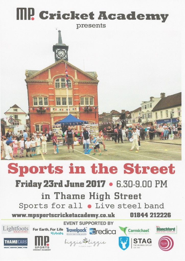 2017. Poster Front. Sport in the Street